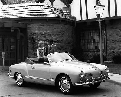 1969 Volkswagen Karmann Ghia Coupe Automobile Photo Poster zad8289-SR22SR