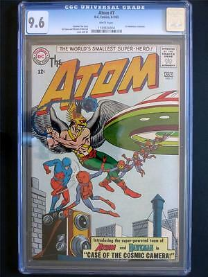 Atom #7 DC 1963 -NEAR MINT- CGC 9.6 NM+ 1st Hawkman X-Over - 2nd HIGHEST GRADE!