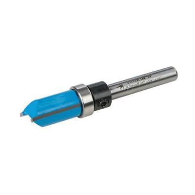 "1/2"" & 1/4"" inch Imperial Template Cutter Router Bit Bits TCT Twin Fluted Jig"