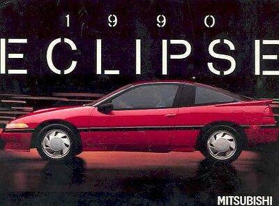 1990 Mitsubishi Eclipse Postcard pc390-FFA7GF