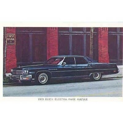 1975 Buick Electra Park Avenue Postcard pc622-6EUSPS