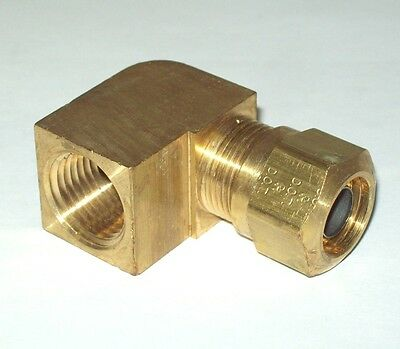 Parker 61NTA-8 Air Brake NTA Compression Nut 1//2 Tube Brass