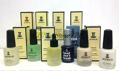 Jessica Cosmetics - Choose Any Base, Top, Treatments- 0.5oz/14.8ml - NEW IN BOX