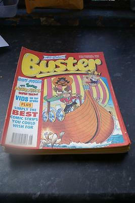 BUSTER COMIC IDEAL BIRTHDAY ANIVERSARY DATE February 27th 1993