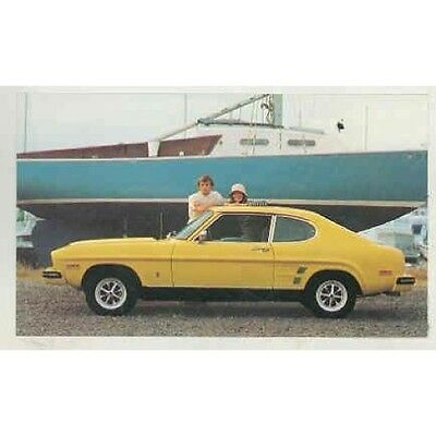 1975 Mercury Capri Factory Postcard mx5134-DW7DKR