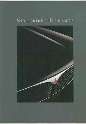 1991 Mitsubishi Diamante Brochure mx5266-WSWDRL