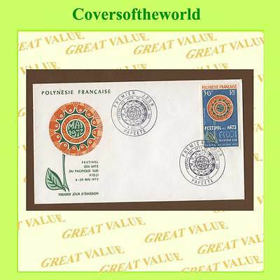 French Polynesia 1972 South Pacific Arts Festival First Day Cover