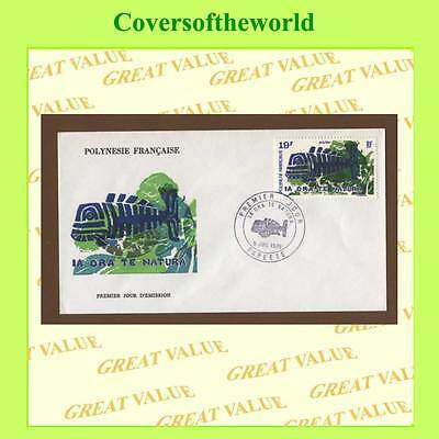 French Polynesia 1975 Nature Protection  First Day Cover