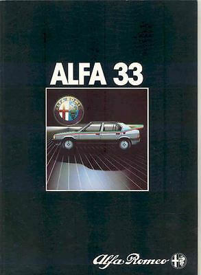 1983 Alfa Romeo Alfa 33 Sales Brochure Dutch x205-Z2VOSM