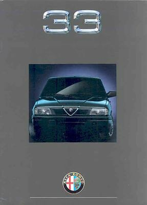 1993 Alfa Romeo 33 Sales Brochure German x233-MGVAT8