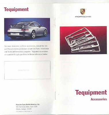 2004 Porsche Accessories Sales Brochure x6186-AOZT1D
