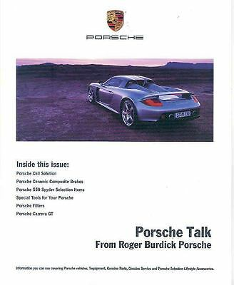 2004 Porsche Talk Accessories Newsletter Burdick x6191-VPTWR8