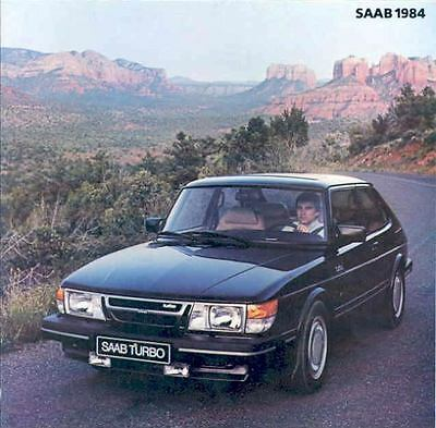 1984 Saab 900 & Turbo Sales Brochure x6453-XXCIQ3