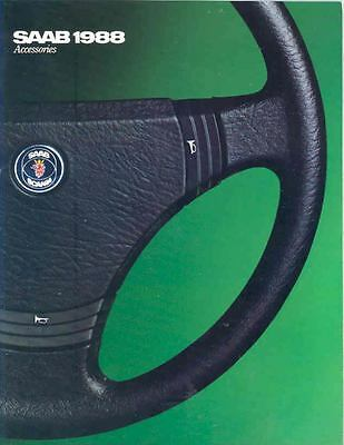 1988 Saab Accessories Sales Brochure x6588-XJFJVN