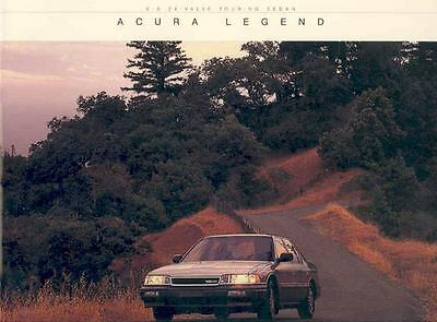 1987 Acura Legend Sales Brochure x67-H8YVOD