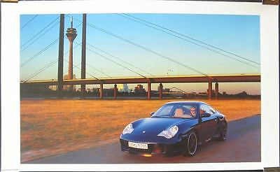 2000 Porsche 911 996 Turbo Showroom Poster x7434-B7QZY6