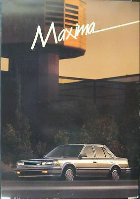 1986 Nissan Maxima Showroom Poster x7711-S4CR1A