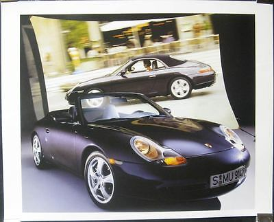1999 Porsche 911 996 Carrera 4 Showroom Poster x8423-L45SKI