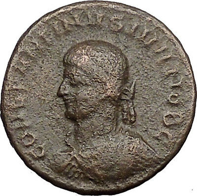 Constantine II Jr Constantine the  Great son Ancient Roman Coin Wreath i30975
