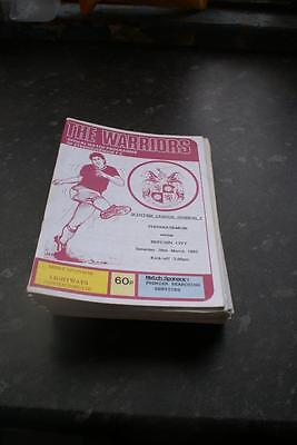 Stenhousemuir V Brechin city March 20, 1993