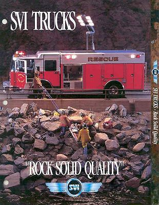 1999 SVI Ford Fire Truck Brochure Mahway Monsey Pinetop f1045-3EKNDQ