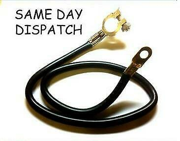 "Cable 24"" 61Cm Car Earth Strap Battery Lead Cable Negative Post"
