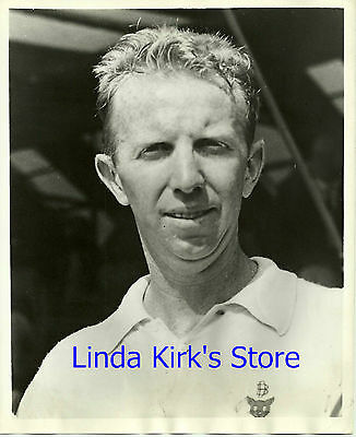 Don Budge Promotional Photograph Nation's Leading Tennis Player 1937 - 1938