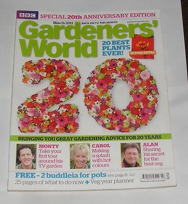 Gardeners' World March 2011 - 20Th Anniversary Edition/20 Best Plants