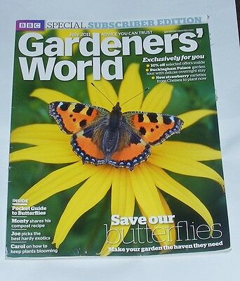 Gardeners' World July 2011 - Butterfly Special/monty On Compost/hardy Exotics
