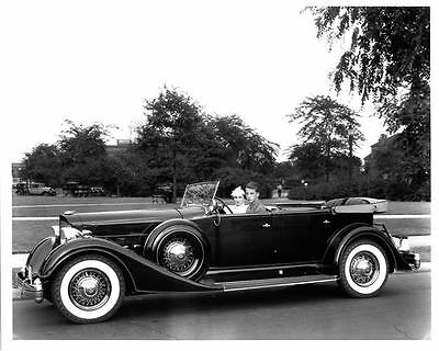 1934 Packard V12 Model 1107 Sport Phaeton Factory Photo ae0733-A4J2G7
