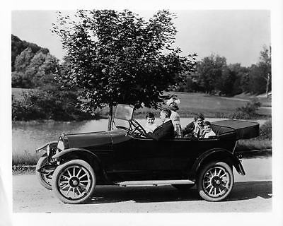 1917 Willys Overland Touring Model 85-4B Factory Photo ad4203-Z6KVDS