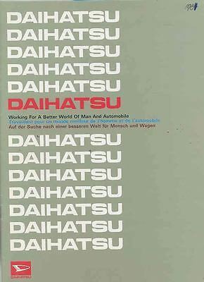 1981 Daihatsu Corporate Car Truck Bus Brochure Japan wr1589-QNSWNF