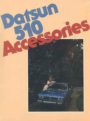 1979 Datsun 510 Accessories Brochure wr1681-18VW27