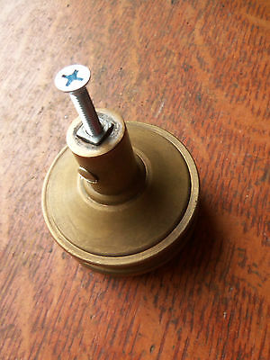 New Screw Mount for Mounting Antique  Doorknob - Removable Screw