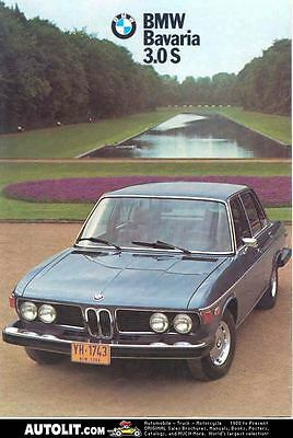 1974 BMW Bavaria 3.0S Sales Brochure mw3288-8QJ7XA
