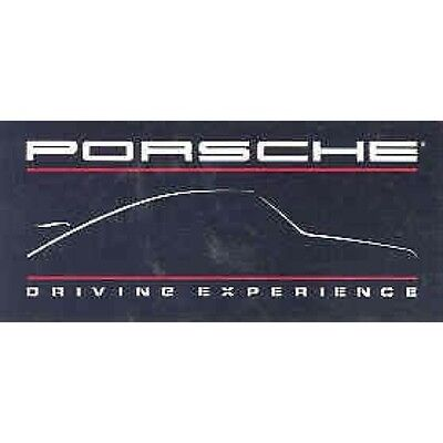 1990 Porsche Bumper Sticker 3 in lot mw3588-QMGEP9