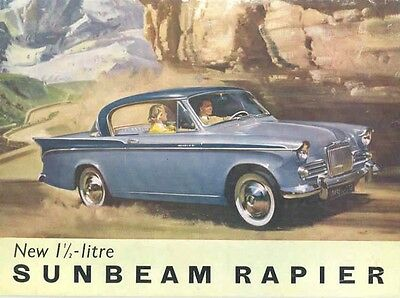 1959 Sunbeam Rapier Sales Brochure mw4345-TSSWM3