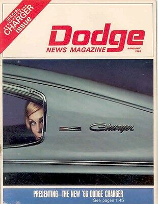 1966 Dodge Charger Show Issue January mw4422-Q8NVVC