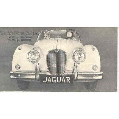 1958 Jaguar XK150 Mark VIII 3.4 Brochure mw4508-4Q25KQ