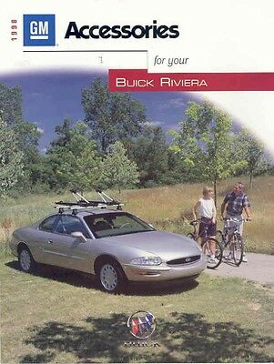 1998 Buick Riviera Accessories Sales Brochure mw5151-MO5A3H