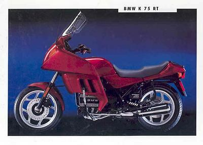1993 BMW K75RT Motorcycle Sales Brochure mw7294-MX8OV9