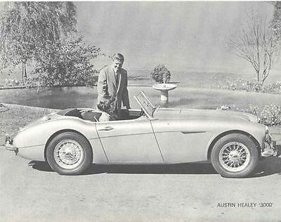 1960 Austin Healey 3000 Sales Brochure mw7566-WIIEQJ