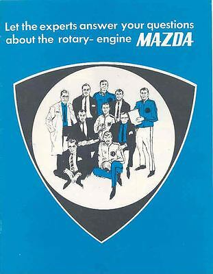 1972 Mazda Rotary Engine Sales Brochure mw7841-SMMT4D