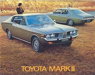 1973 Toyota Mark II Sales Brochure mw8169-Y1HU2Q