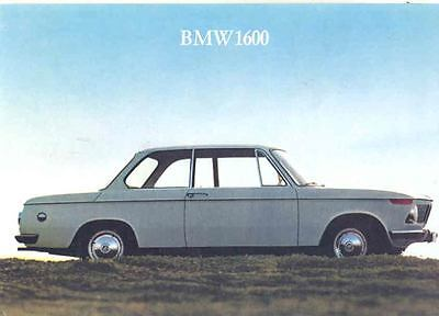 1967 BMW 1600 Sales Brochure mw8341-UI1FWI