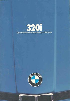 1980 BMW 320i Sales Brochure mw9528-7RS46T