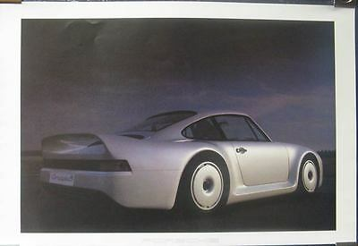 1984 Porsche Group B Showroom Poster mw9939-GUDSK4