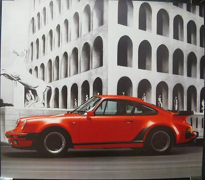 1989 Porsche 911 930 Turbo Showroom Poster mw9958-LXRBDX