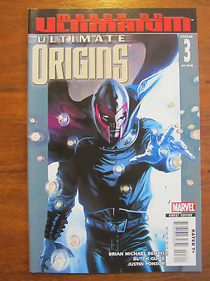 ULTIMATE ORIGINS #3 - MAGNETO Cover - Brian Michael Bendis, Butch Guice Art NM