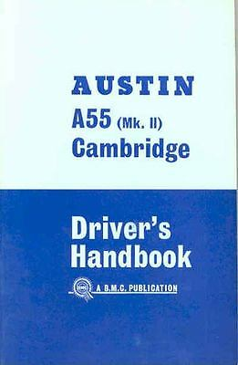 1964 Austin A55 Mk II Cambridge Owner's Manual fo142-IK24JL